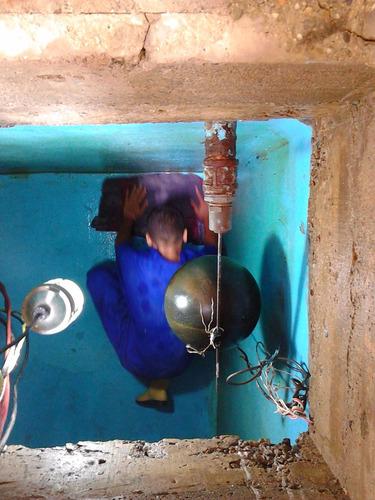 agua limpieza tanques
