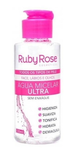 água micelar ruby rose hb-300 lançamento