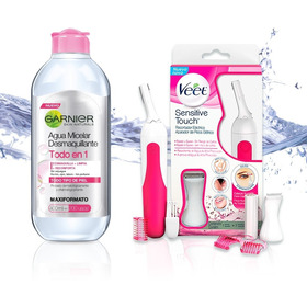 Agua Micelar Skin + Trimmer: Veet Sensitive