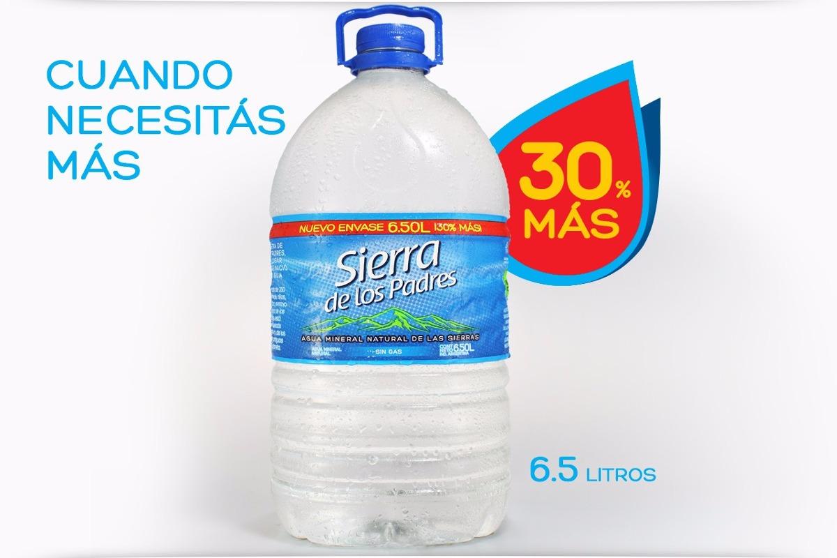 Agua Mineral Bidon 65lts Sierra De Los Padres El Mas Grande 47