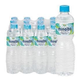 Água Mineral Minalba 510ml S Gás Campos Do Jordão Pacote 12