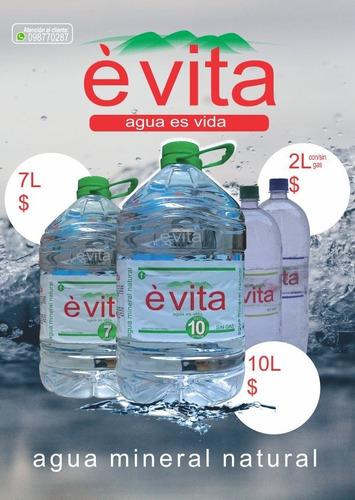 agua mineral natural è vita busca distribuidores