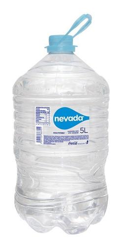 agua nevada pet 5l 4 unidades.