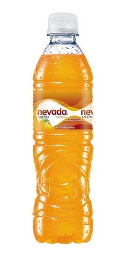 agua nevada saborizada de mandarina pet 600ml 12 unidades.