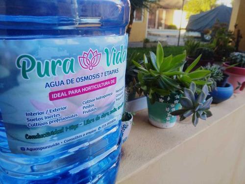 agua para cultivo