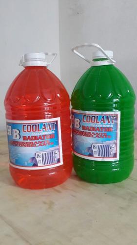 agua para radiador refrigerante anticongelante anticorrosiva