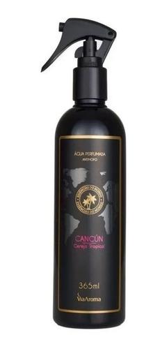 água perfumada para tecidos antimofo 365ml via aroma