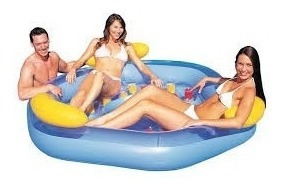 agua playa inflable