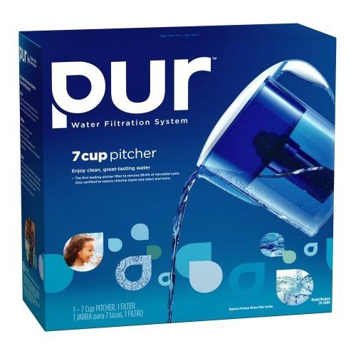 agua pur cr-6000 7-cup jarra de filtración