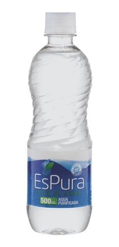 agua purificada botella 500 c.c. espura