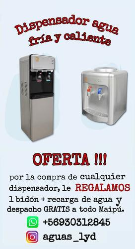 agua purificada fría y caliente (recargas)
