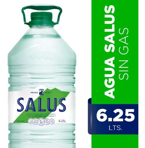 agua salus sin gas bidón 6l