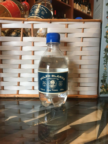 agua tónica pulpo blanco 350ml x 6 unidades