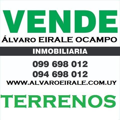 aguada y rambla portuaria: esquina 1.800 m2*  viv. promovida