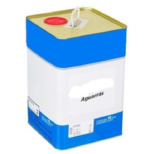 aguarras mineral diluyente para sintetico x 18 litros