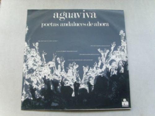 aguaviva poetas andaluces de ahora