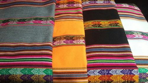 aguayo bolivia manta cubre sillon o cama 2,40 x1,20