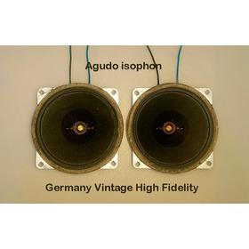 Agudo Isophon Germany Vintage High Fidelity No Tweeter Sony