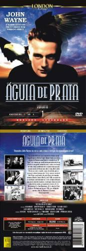 águia de prata volume 1 dvd original