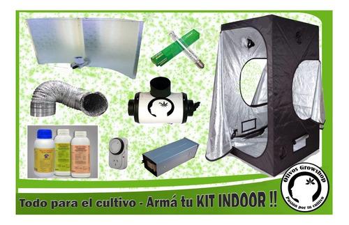 aguila blanca proyector  sodio cultivo indoor- olivos grow