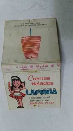 aguila helados laponia centenario mar del plata