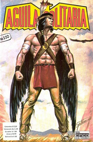 águila solitaria, colección completa de e-comics digitales