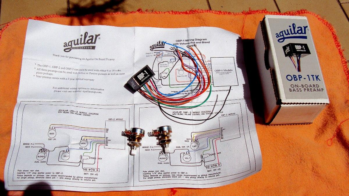 Aguilar Obp 1tk Preamp Para Bajo 2 Bandas 610000 En Mercado Libre Wiring Diagram Cargando Zoom