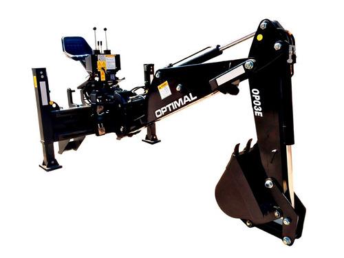 aguilon para minicargador optimal con silla consultar precio
