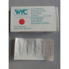Aguja Recta P/ Depilación Definitiva Electrólisis X Unidad