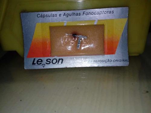 aguja universal le-son para pastilla cerámica tocadiscos