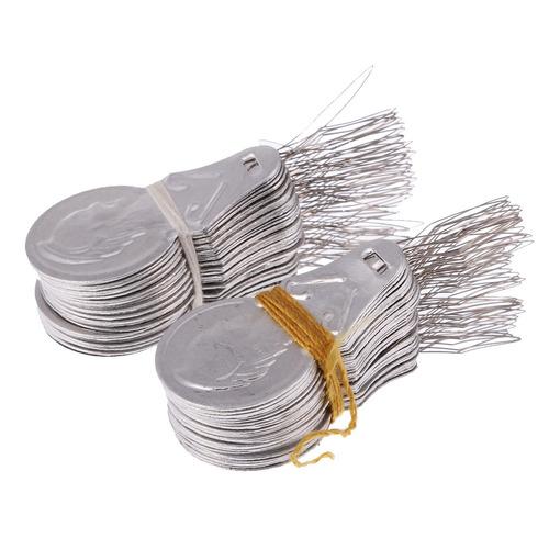 agujas de coser a mano con enhebradores de aguja con hilo de
