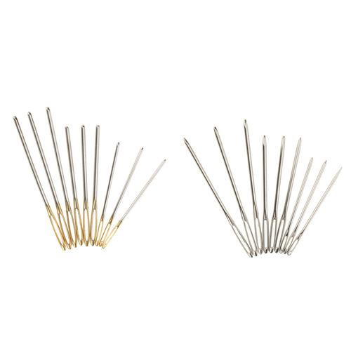 agujas de costura de puntada roma 9 piezas ojo de coser agu