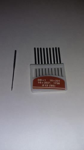 agujas para maquina industrial marca orange needles