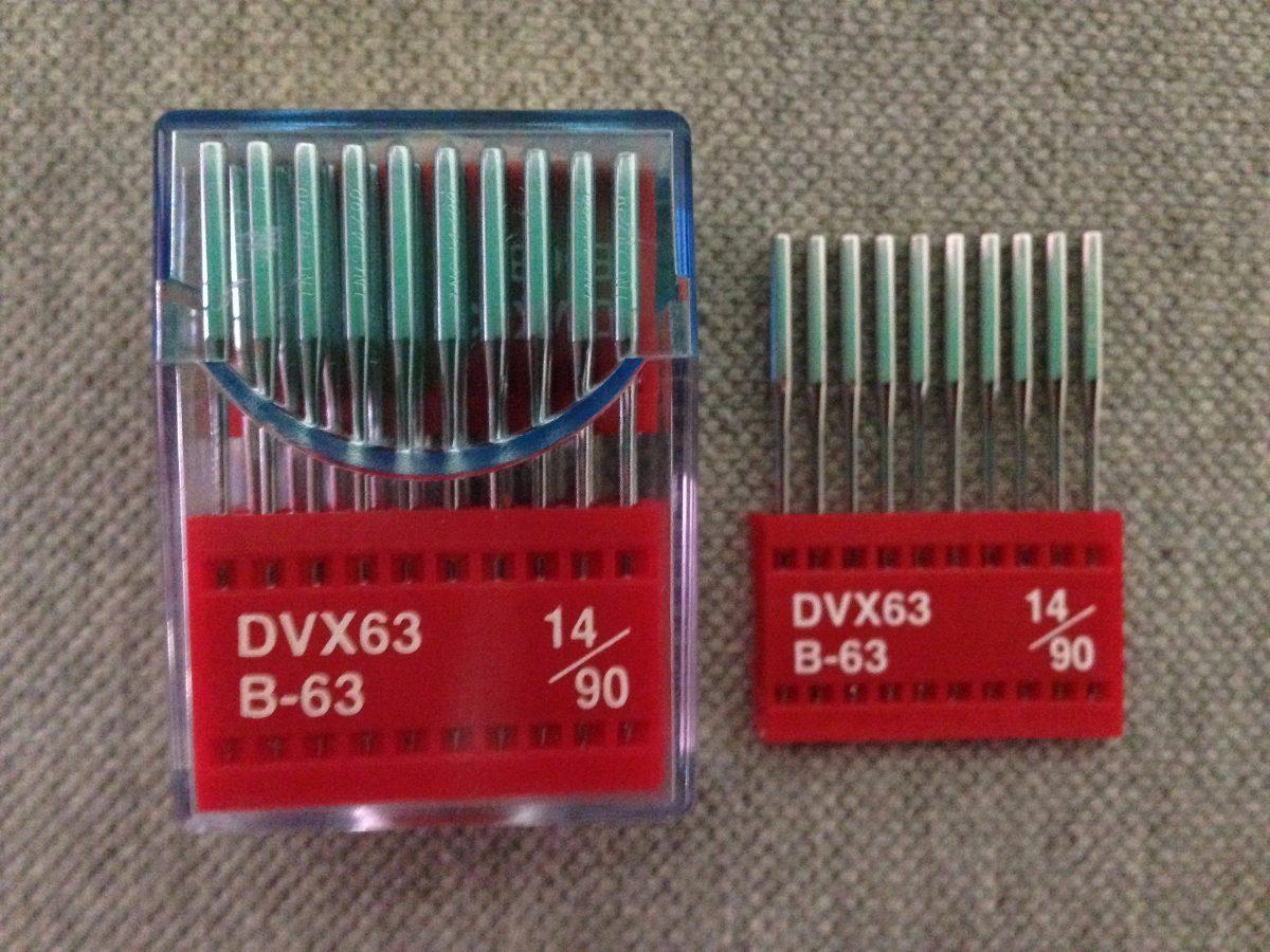 Agujas Para Maquinas De Coser Collaretera Industrial Dvx63