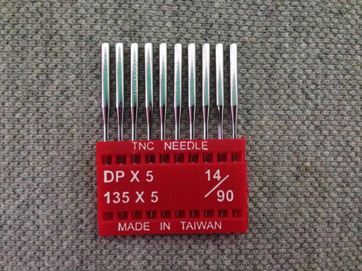 Agujas Para Maquinas De Coser Recta Industrial Dpx5 Cabo