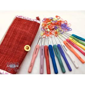 9e61016432475 Agujas Crochet Almendra - Artículos de Mercería en Mercado Libre Argentina