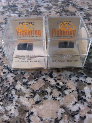 agujas tocadiscos pickering originales únicas y nuevas
