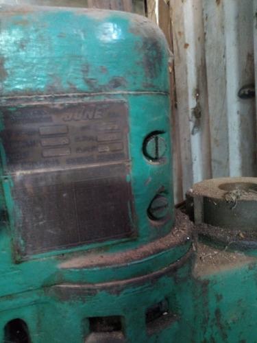 agujereadora de pie motor  trifásico