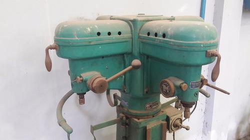 agujereadora - perforadora 4 cabezales 1 solo motor 1.5 hp