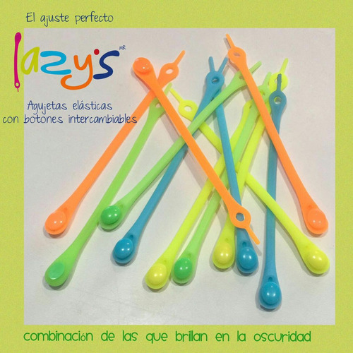 agujetas elasticas, para niños y adultos