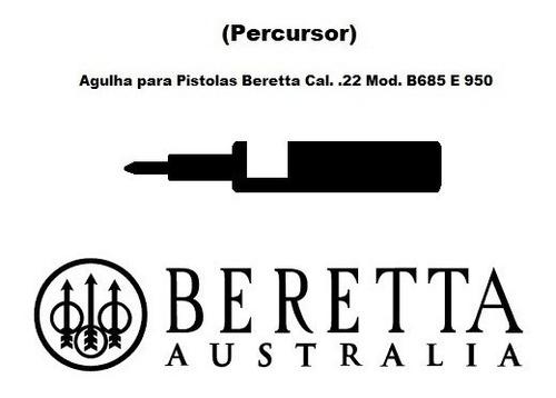agulha com mola para beretta .22 mod. b685 e 950 (percussor)