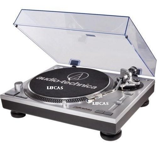 agulha elíptica -da toca discos audio technica at- lp120 usb