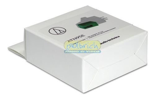 agulha original atn95e p/ toca disco audio-technica at-lp120