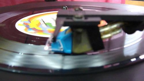 agulha toca disco