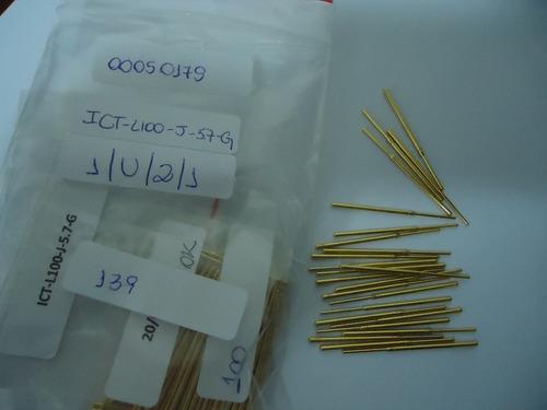 agulhas testes ict-l100-j-5.7-g pino
