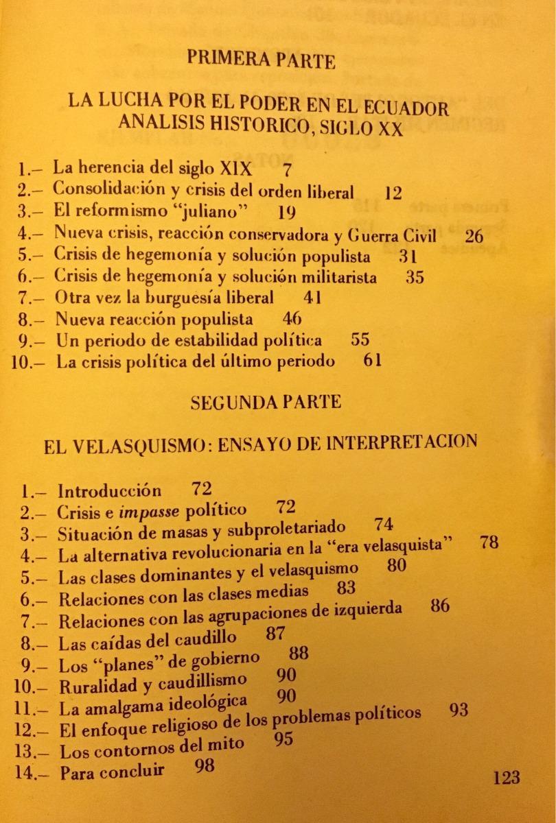 Agustín Cueva - El Proceso De Dominación Política En Ecuador -   280 ... 4e10ac1a4e0
