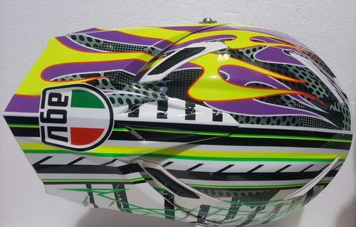 agv cross casco