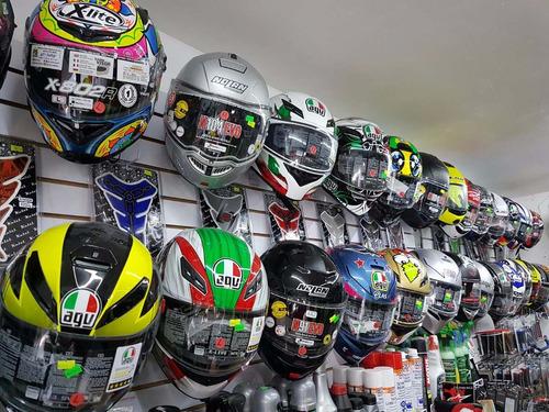 agv moto casco