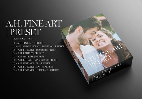 a.h. fine art | preset lightroom