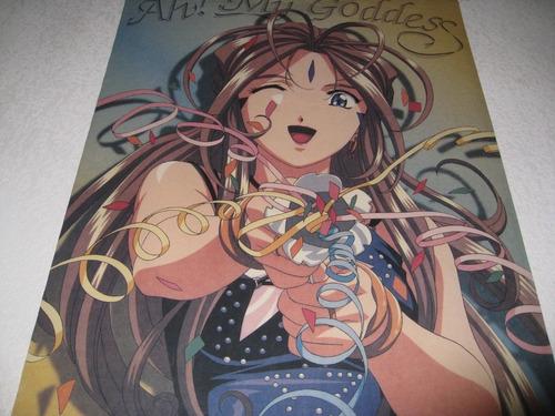 ah! my goddess * belldandy * poster manta wallscroll